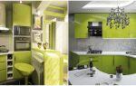 Кухня в зеленом цвете: 3 варианта сочетания цветов (+39 фото)