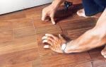 Ремонт линолеума: как отремонтировать своими руками