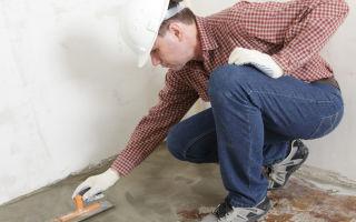 Как произвести ремонт бетонного пола своими руками?