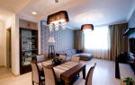Как создать дизайн столовой и гостиной в квартире?
