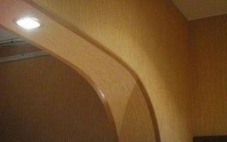 Как отделать арку уголком: советы и рекомендации