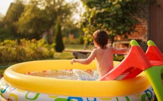 Бассейн для детей на даче