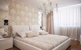 Бежевая спальня – фото дизайна