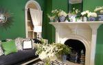 Зеленый интерьер квартир – цвет гармонии (45 фото)