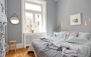 Цвет маленькой спальни