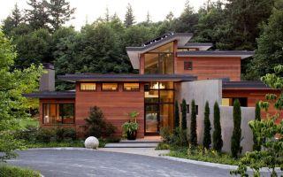 Современный загородный дом в сша
