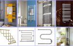 Виды и установка полотенцесушителей в ванной