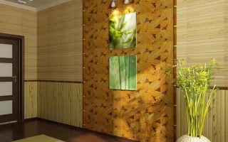 Использование в интерьере помещений бамбуковых обоев