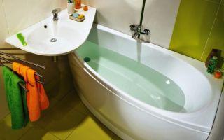 Угловая ванна в интерьере – принципы выбора и варианты размещения