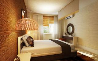 Идеи для интерьера узкой спальни: обработка поверхностей комнаты, мебель