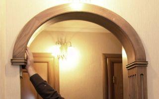 Изготовление и монтаж деревянной арки