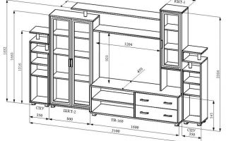Как собрать мебель в гостиную своими руками