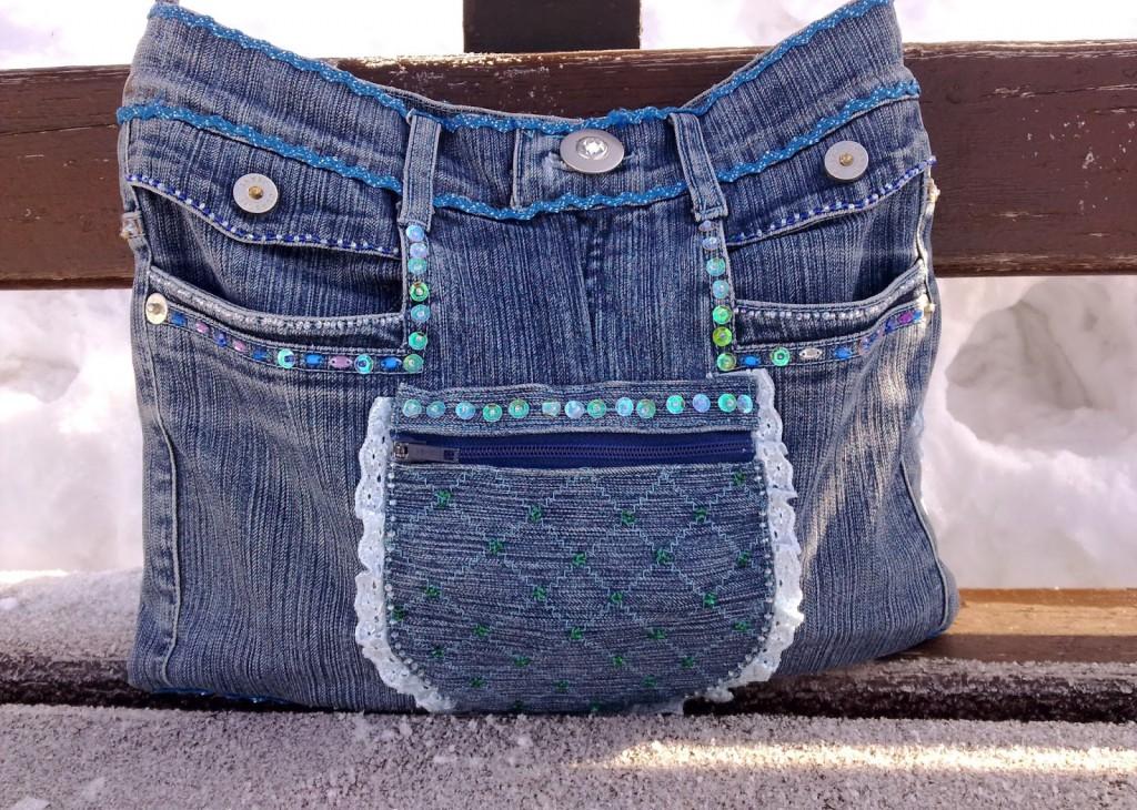b028bc5a1fbe Делаем полезные вещи из старых джинсов своими руками (44 фото) - Топ ...