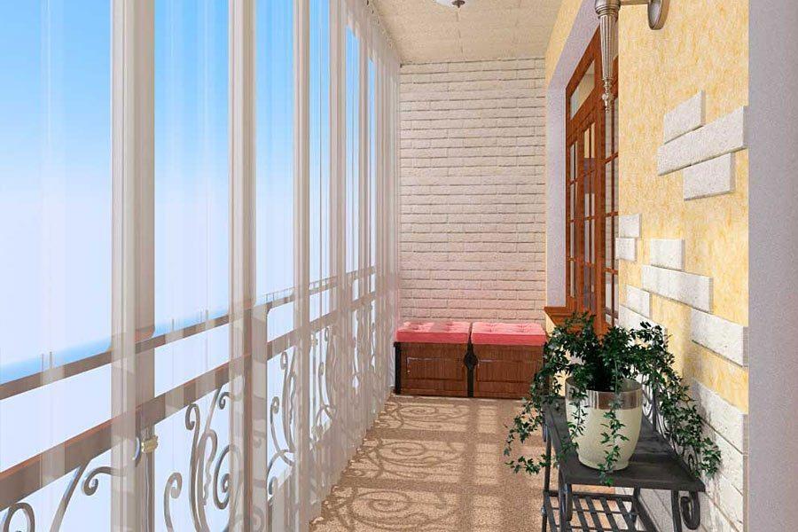 французские окна на балконе дизайн и особенности установки