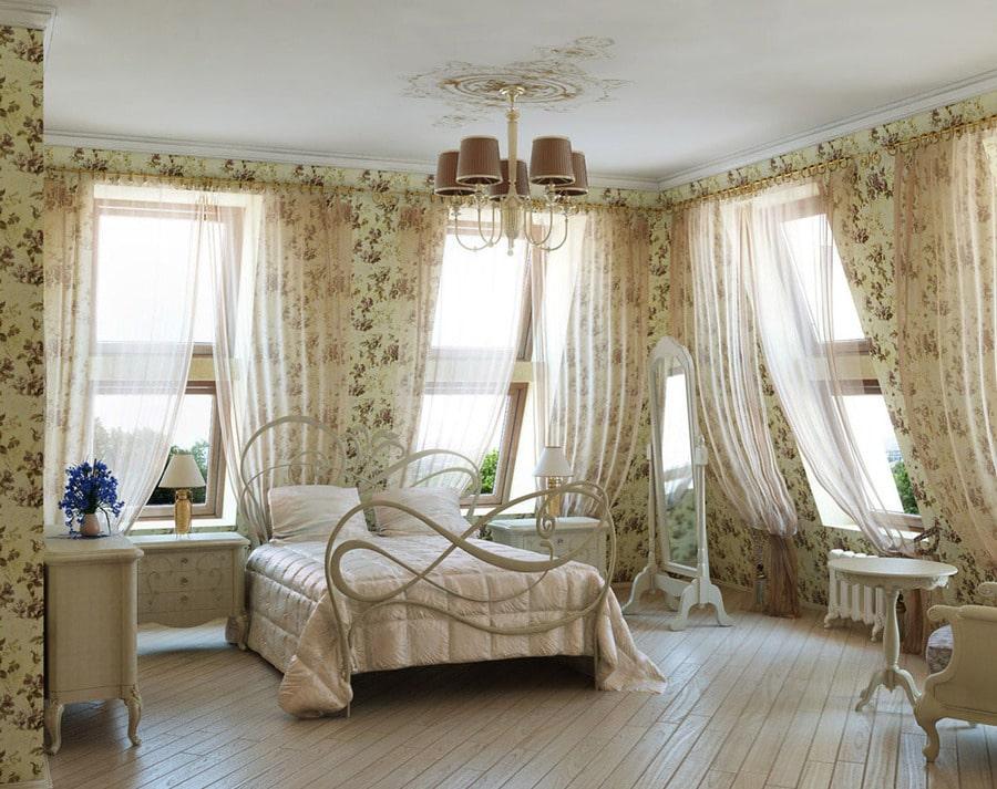 5 вариантов применения ассиметричных штор на окнах4