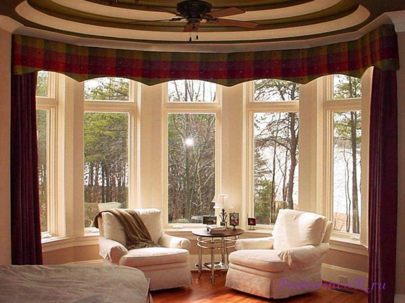 А вы знаете, как правильно применить бордовые шторы в интерьере комнат ?2