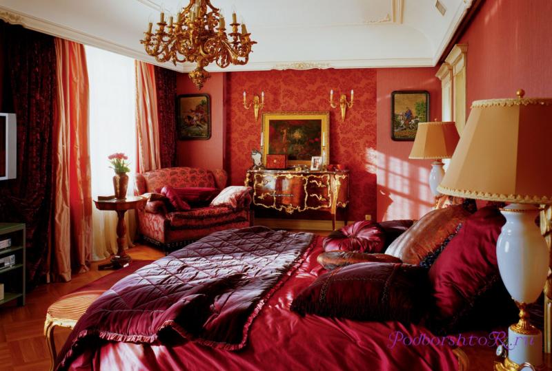 А вы знаете, как правильно применить бордовые шторы в интерьере комнат ?4