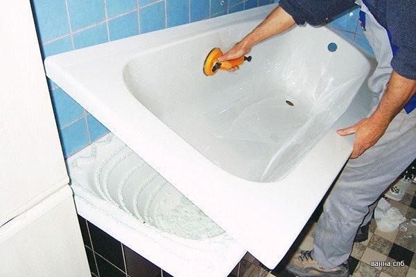 Акриловый вкладыш в ванну – лучший вариант реставрации старой ванной3