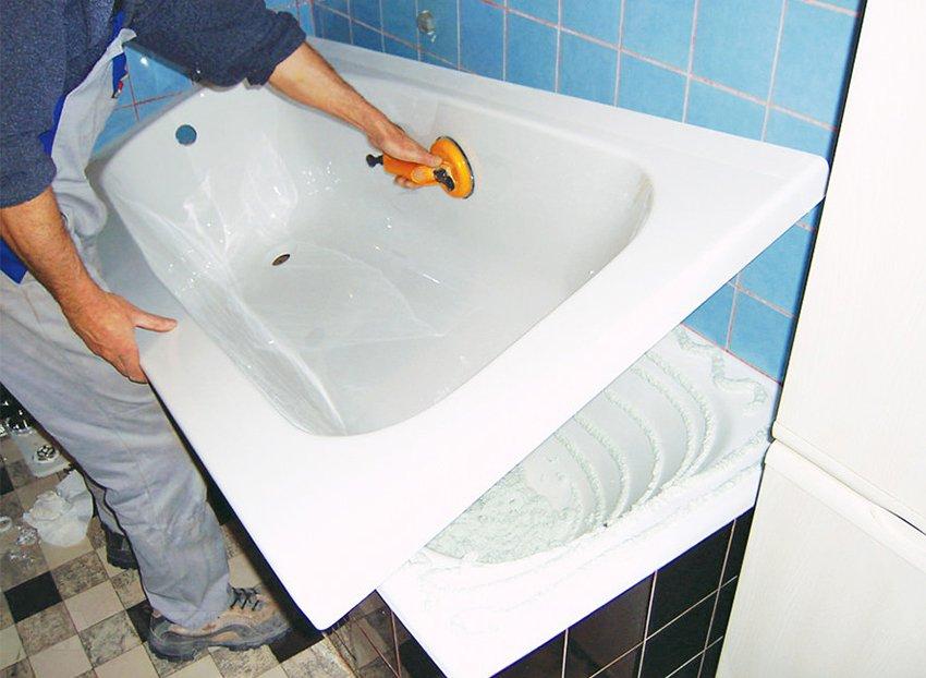 Акриловый вкладыш в ванну – лучший вариант реставрации старой ванной4