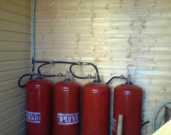 Альтернатива газовому отоплению. отопления дома сжиженным газом4