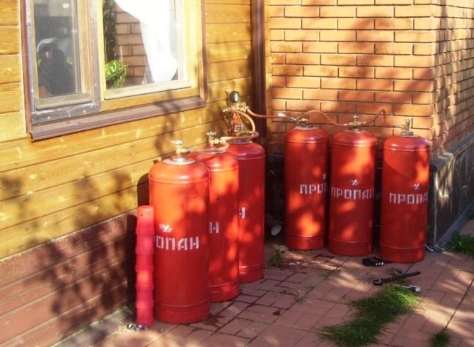 Альтернатива газовому отоплению. отопления дома сжиженным газом6