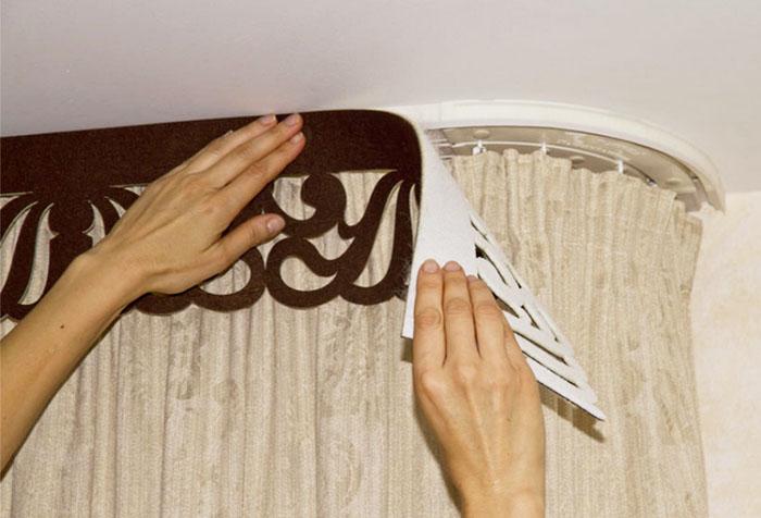 Ажурные ламбрекены: создаем красоту своими руками3