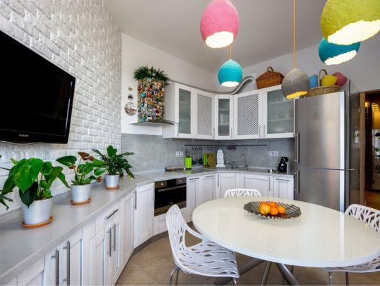 Белые кухни0