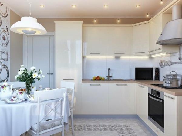 Белые кухни4