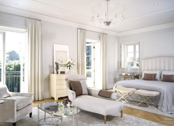 Белые шторы в интерьере: секрет красоты в каждой комнате1