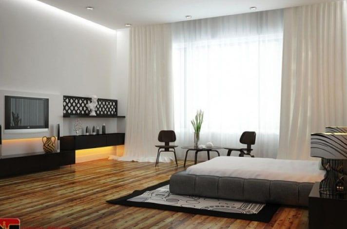 Белые шторы в интерьере: секрет красоты в каждой комнате3