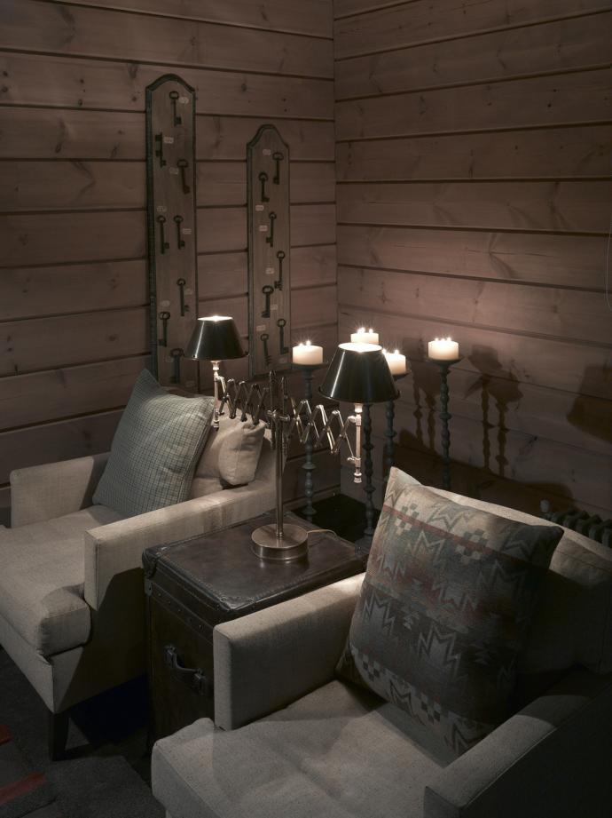 Блокхаус в интерьере дома отдыха в подмосковье2