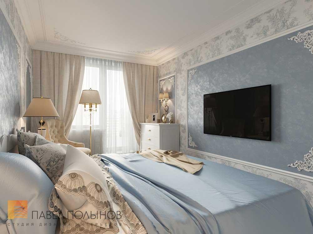 Cпальня 17 кв.м дизайн: цвет, кровать, декор1