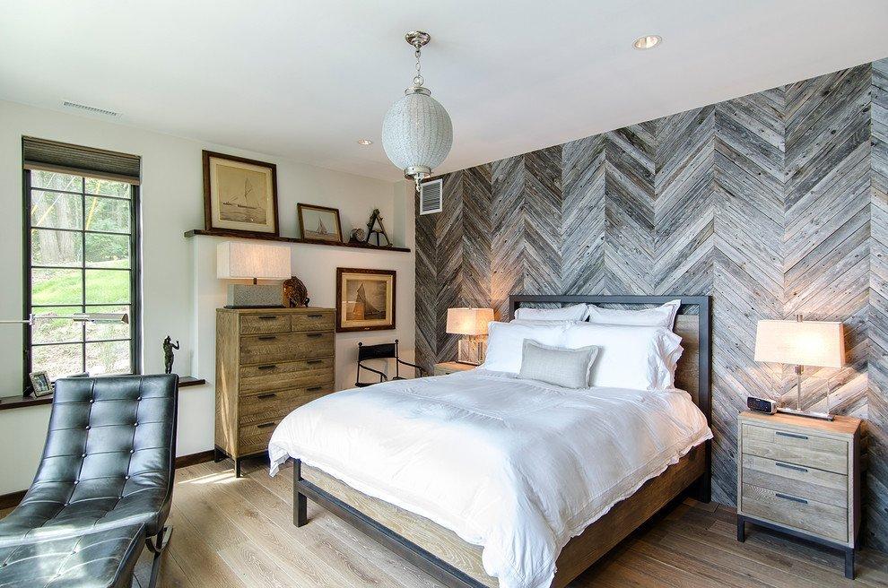 Cпальня 17 кв.м дизайн: цвет, кровать, декор5