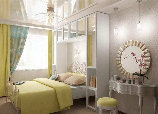 Декор спальни в хрущевке: общие рекомендации (фото)1
