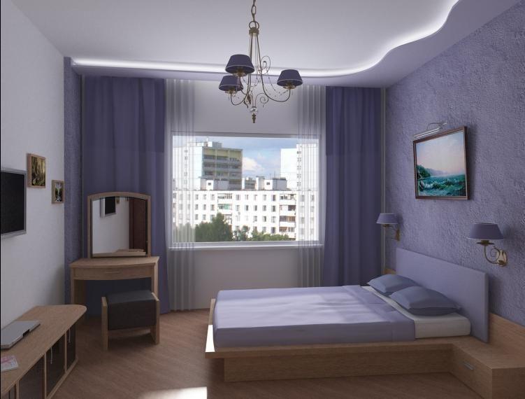 Декор спальни в хрущевке: общие рекомендации (фото)5