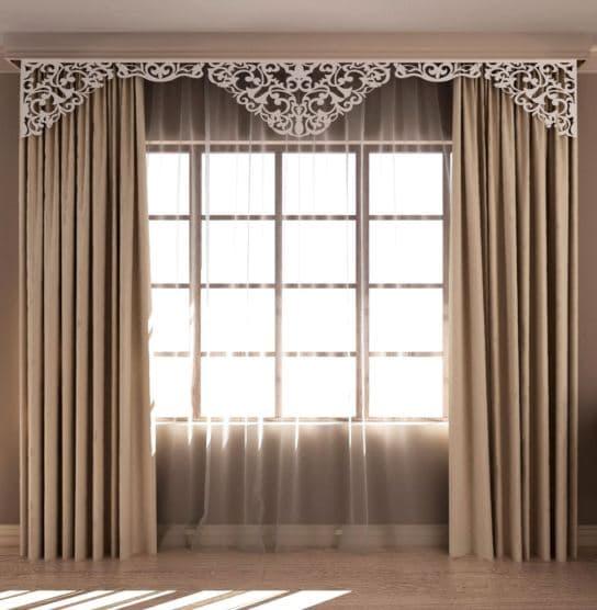 Декорируем шторы своими руками: идеи, инструкция7
