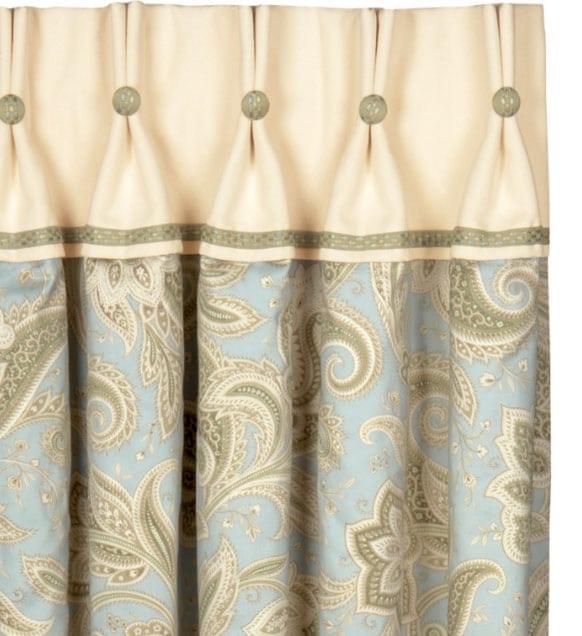 Делаем элегантные складки на шторах2