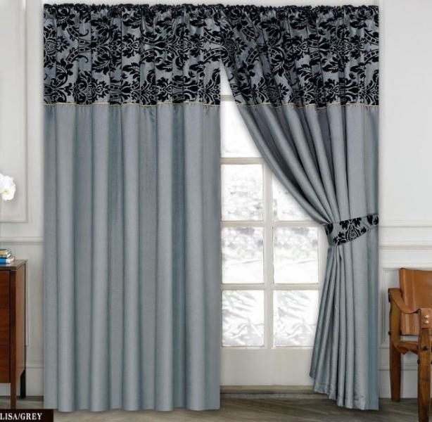 Делаем элегантные складки на шторах5