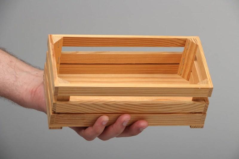 деревянные ящики в качестве цветочного горшка топ интерьер