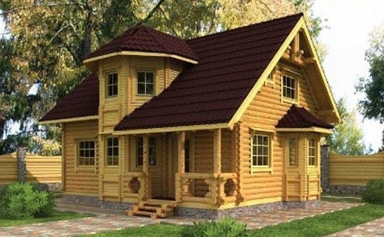 Деревянный дом1