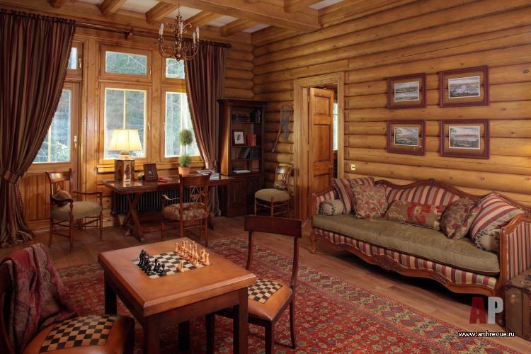 Деревянный дом в аутентичном европейском стиле9