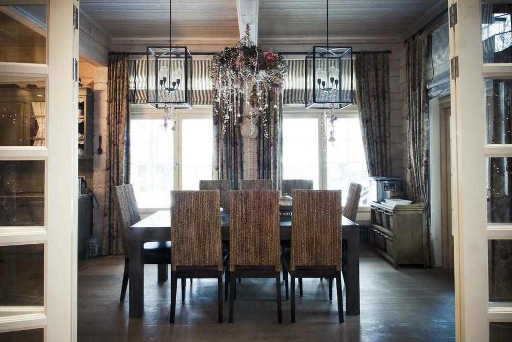 Деревянный дом в аутентичном европейском стиле3