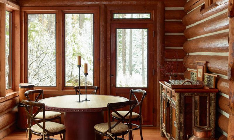 Деревянный дом в аутентичном европейском стиле7
