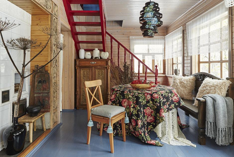Деревянный дом в аутентичном европейском стиле8