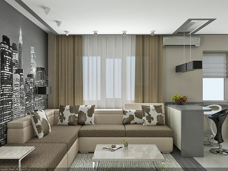 Дизайн гостиной 25 кв м своими руками0