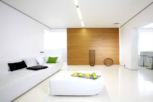 Дизайн гостиной в минимализме4