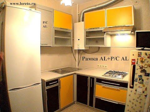 Дизайн кухни с газовой колонкой4