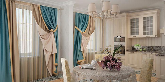 Дизайн штор: особенности выбора портьер и тюля1