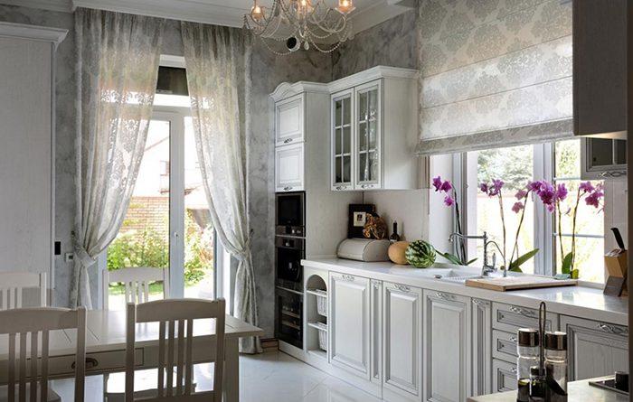 Дизайн штор: особенности выбора портьер и тюля2