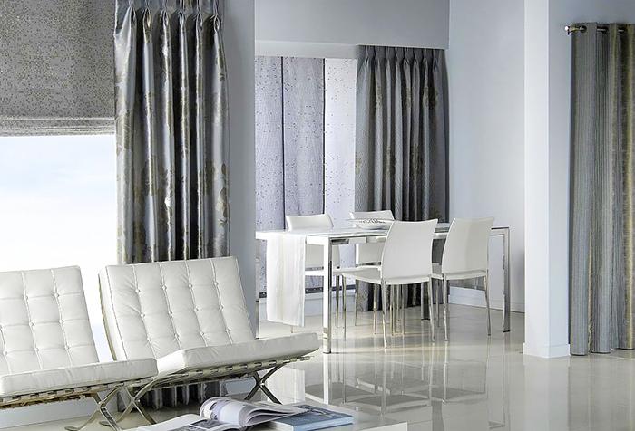 Дизайн штор: особенности выбора портьер и тюля0